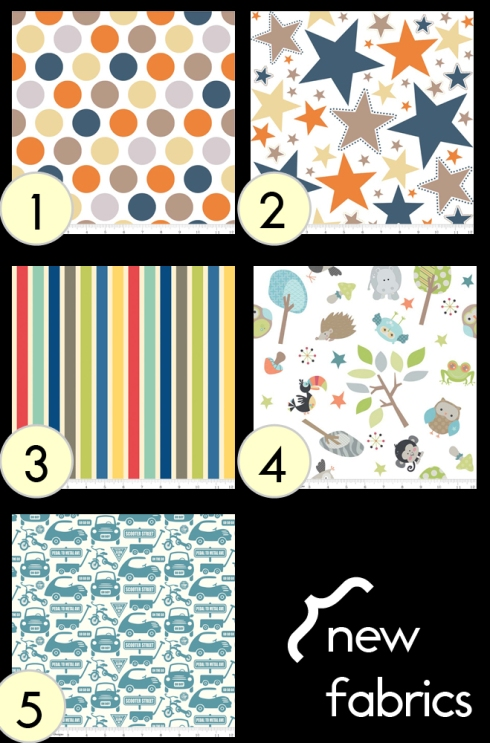first round of new swatches/fabric options